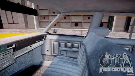 Chevrolet Impala Taxi 1983 [Final] для GTA 4 вид изнутри