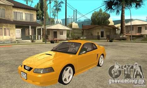 Ford Mustang GT 1999 - Stock для GTA San Andreas