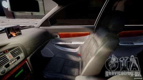 Chevrolet Evanda для GTA 4 вид изнутри