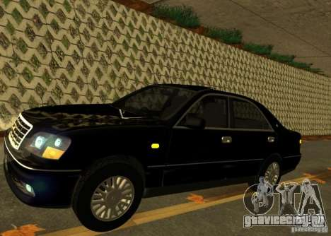 Toyota Crown Majesta S170 для GTA San Andreas вид сзади слева