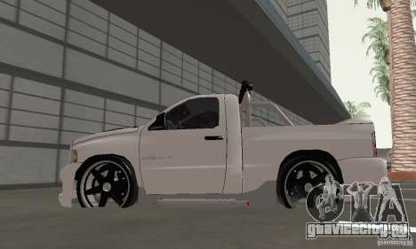 Dodge Ram SRT-10 Tuning для GTA San Andreas вид справа