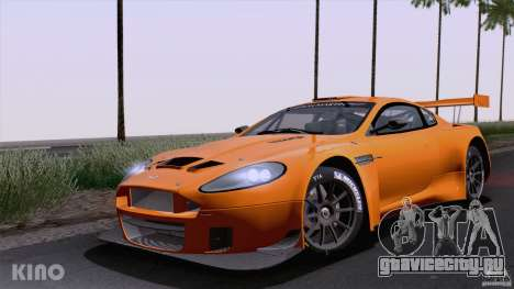 Aston Martin Racing DBRS9 GT3 для GTA San Andreas вид сзади слева