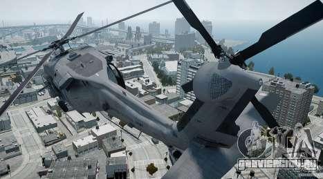 HH-60G Pavehawk для GTA 4 вид изнутри