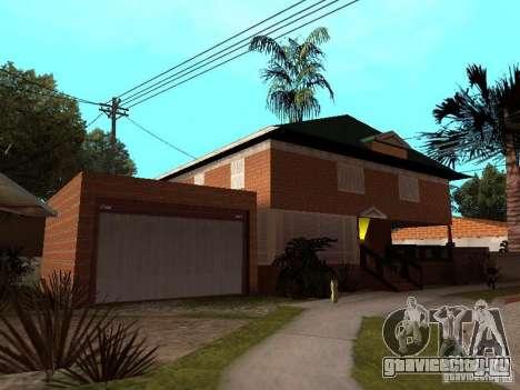 Дом CJ по русски для GTA San Andreas второй скриншот