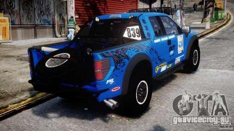 Ford F150 Racing Raptor XT 2011 для GTA 4 вид сбоку