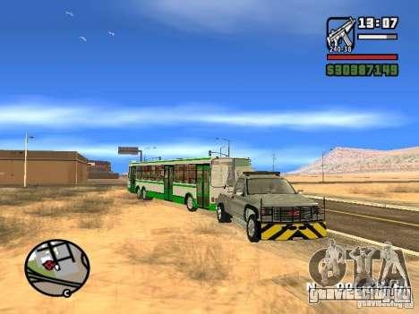 GMC Sierra Tow Truck для GTA San Andreas вид сбоку