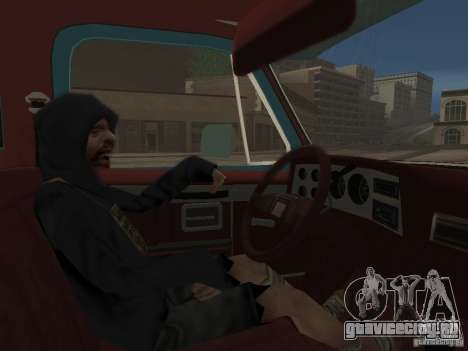 Chevrolet Towtruck для GTA San Andreas вид сзади