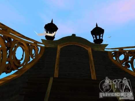 Queen Annes Revenge для GTA San Andreas вид изнутри