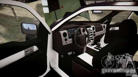 Ford F150 SVT Raptor 2011 UNSC для GTA 4 вид сверху