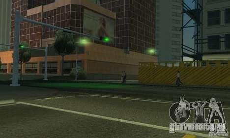 Неоновый цвет фар для GTA San Andreas шестой скриншот