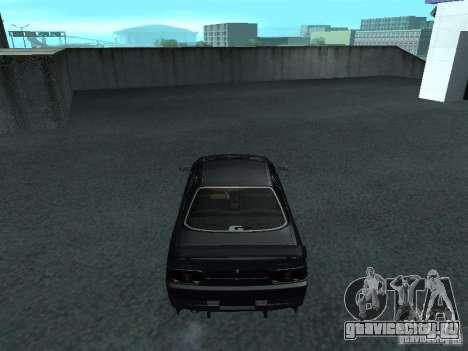 Nissan Skyline R32 Tuned для GTA San Andreas вид справа