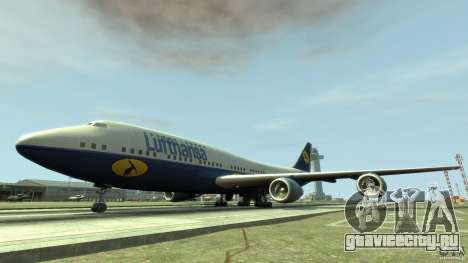 Lufthansa Airplanes для GTA 4