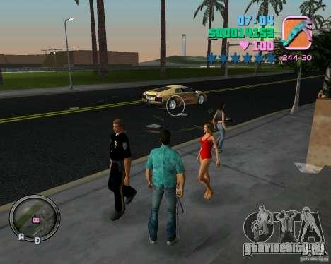 Новая одежда копов для GTA Vice City восьмой скриншот
