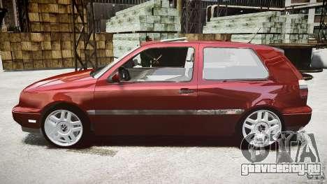 Volkswagen Golf MK3 GTI для GTA 4 вид слева