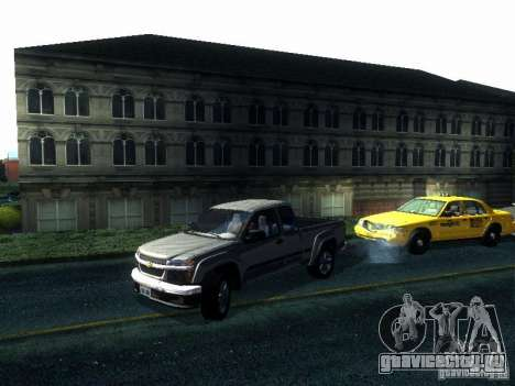 Chevrolet Colorado 2003 для GTA San Andreas вид сзади слева