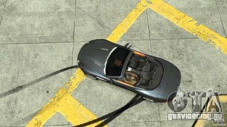 Aston Martin Volante DB9 для GTA 4 вид справа