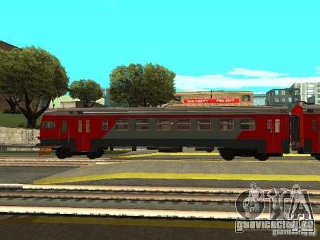 ЭР2 1274 РЖД для GTA San Andreas вид слева