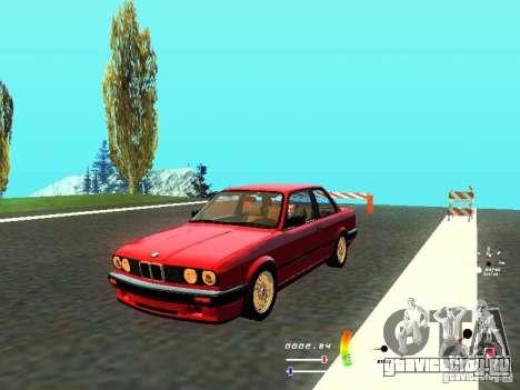 BMW E30 87-91 для GTA San Andreas
