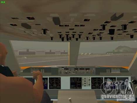 Sukhoi Superjet-100 для GTA San Andreas вид сверху