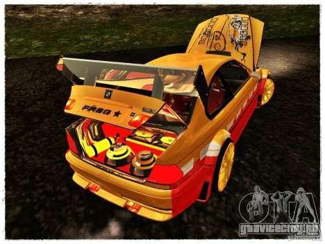 BMW M3 Calibri-Ace для GTA San Andreas вид сзади