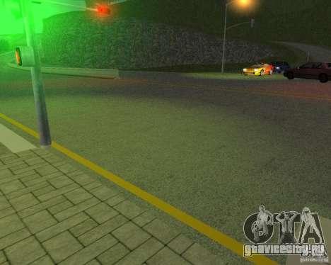 Новые дороги в San Fierro для GTA San Andreas пятый скриншот