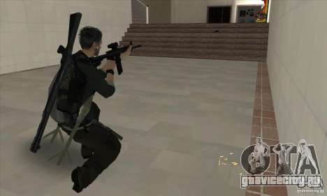 Sam Fisher для GTA San Andreas пятый скриншот