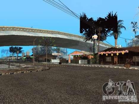 Новый Год на Гроув Стрит для GTA San Andreas третий скриншот