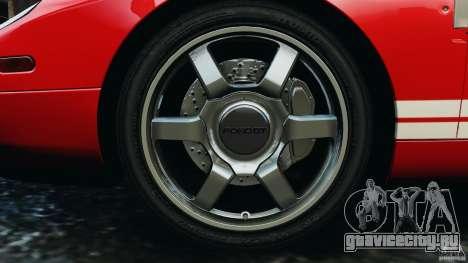 Ford GT 2005 v1.0 для GTA 4 вид сбоку