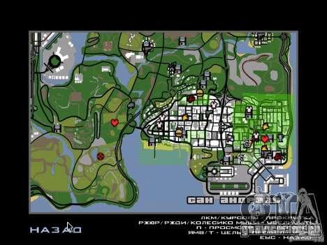 Scary Town Killers для GTA San Andreas третий скриншот