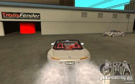 BMW Z8 для GTA San Andreas вид слева