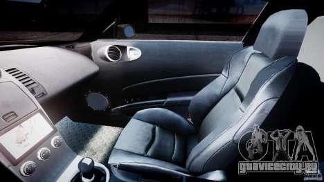 Nissan 350Z Veilside Tuning для GTA 4 вид изнутри