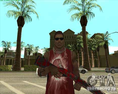Blood Weapons Pack для GTA San Andreas двенадцатый скриншот