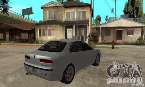 Alfa Romeo 156 2,5V6 2000 для GTA San Andreas вид справа