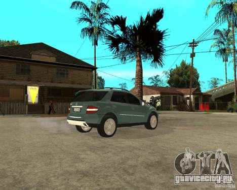 Mercedes-Benz ML 500 для GTA San Andreas вид справа