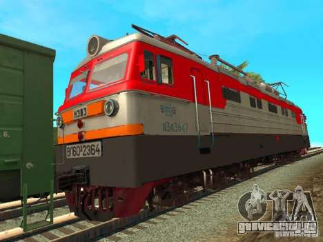 ВЛ60К 2364 РЖД для GTA San Andreas вид сзади слева