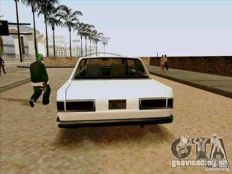 Admiral Limo для GTA San Andreas вид сзади