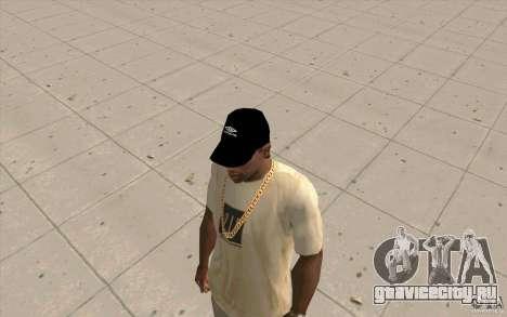 Кепка umbro black для GTA San Andreas