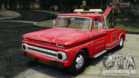 Chevrolet C20 Towtruck 1966 для GTA 4