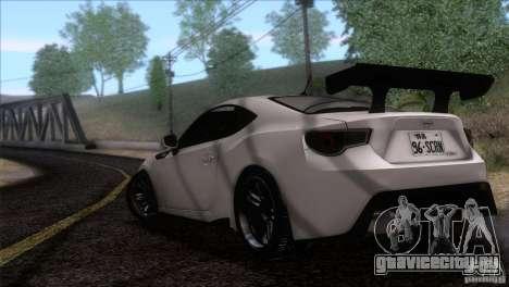 Scion FR-S 2013 для GTA San Andreas вид слева