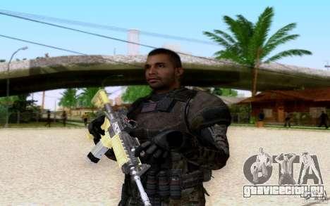 Салазар из CoD: BO2 для GTA San Andreas четвёртый скриншот