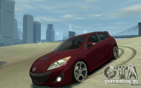 Mazda 3 MPS 2010 для GTA 4