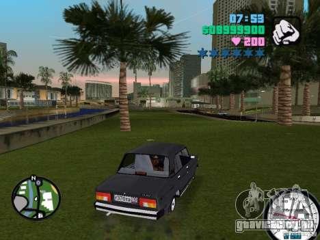 Ваз 2105 для GTA Vice City вид справа