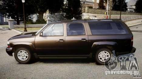 Chevrolet Suburban Z-71 2003 для GTA 4 вид слева