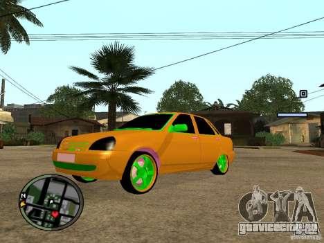 ВАЗ 2174 Priora Crazy Taxi для GTA San Andreas