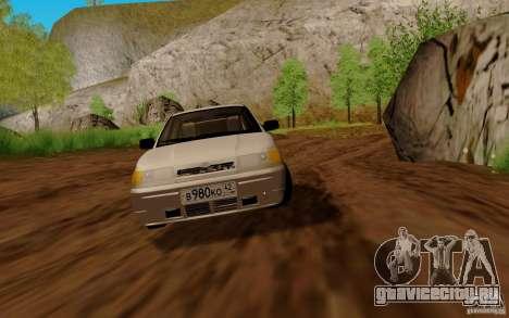 ВАЗ 2111 для GTA San Andreas вид справа