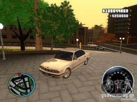 BMW E34 540i для GTA San Andreas