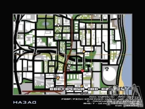 Автосервис около Grove для GTA San Andreas шестой скриншот