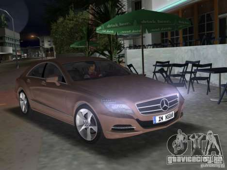 Mercedes-Benz CLS350 для GTA Vice City