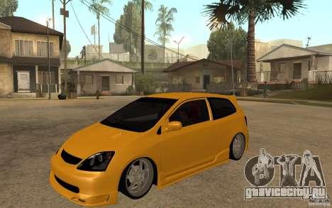 Honda Civic Type-R EP3 для GTA San Andreas