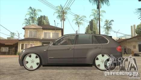 BMW X5 dubstore для GTA San Andreas вид слева